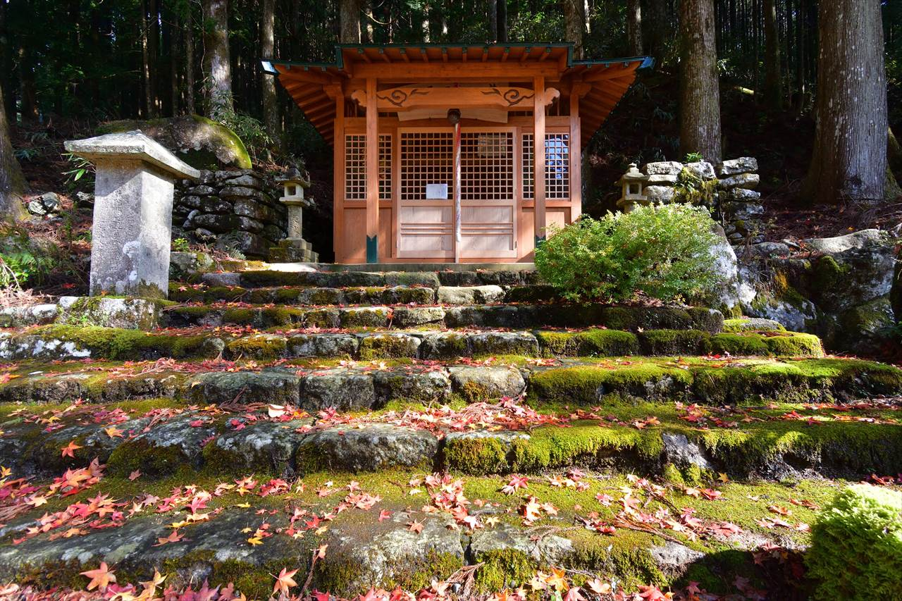 紅葉の地蔵茶屋