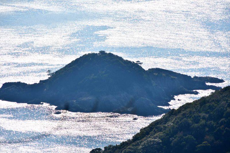 長井坂から見る枯木灘