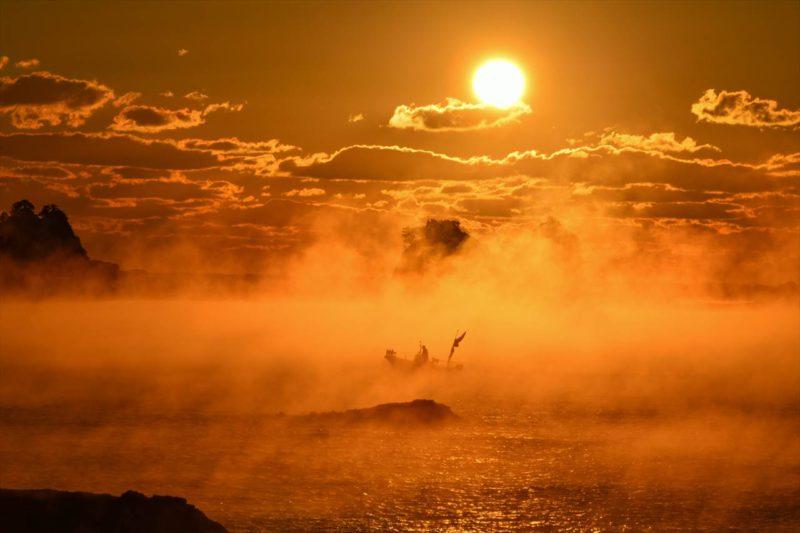 田原の海霧
