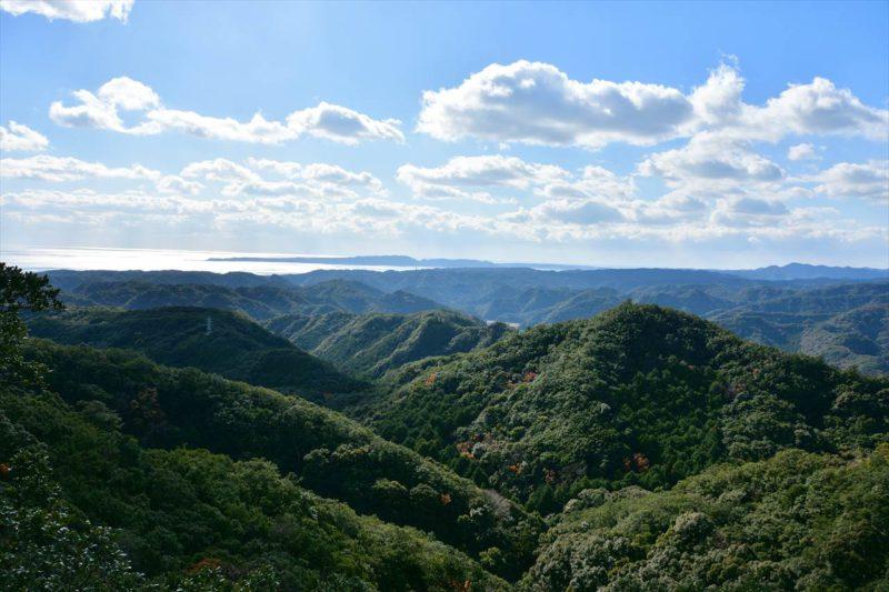 八郎山の展望