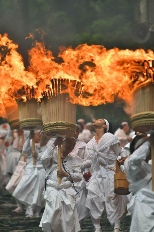 那智の扇祭り(火祭り)