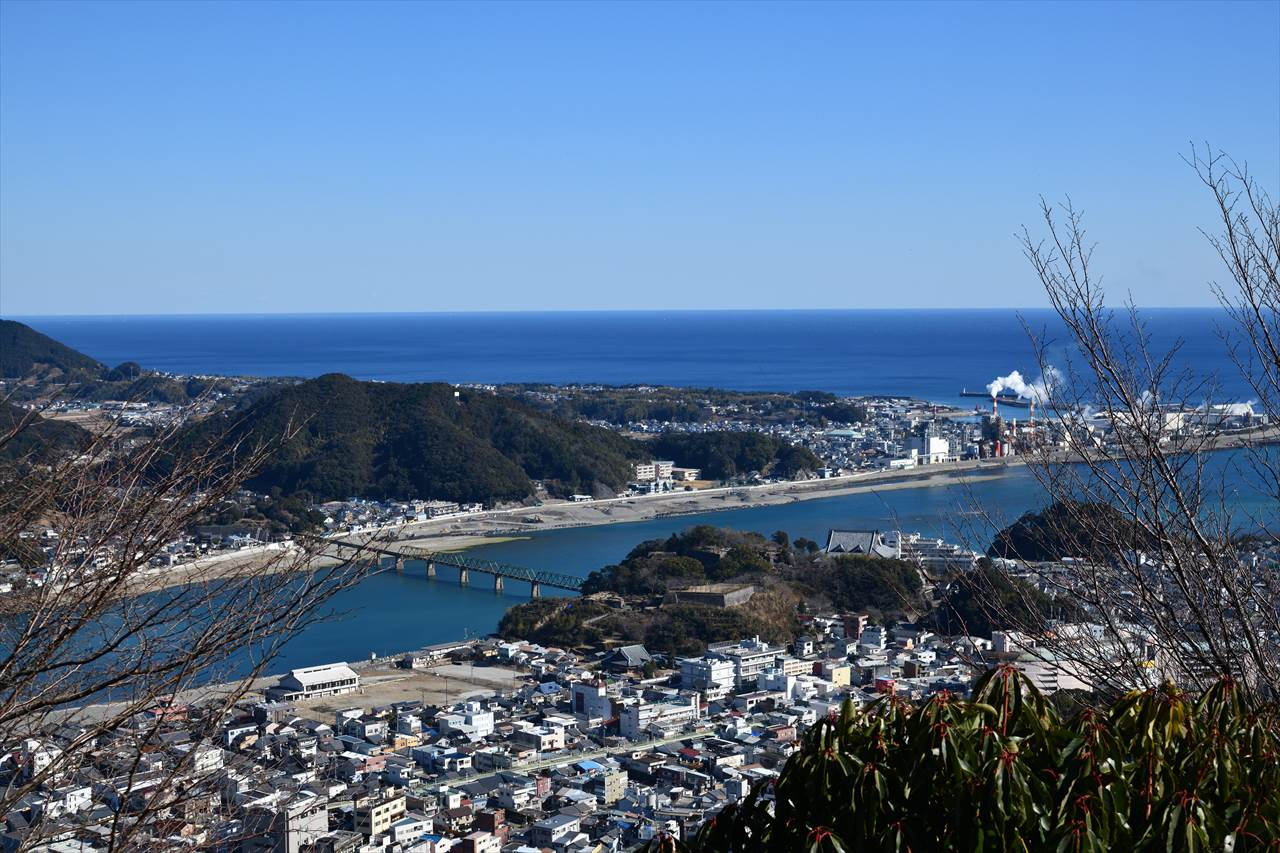 千穂ケ峰登山歩道