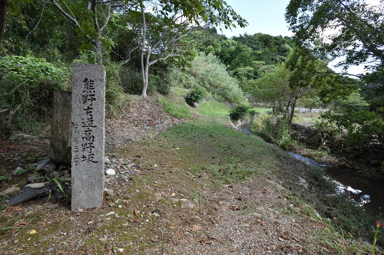 高野坂とヒガンバナ